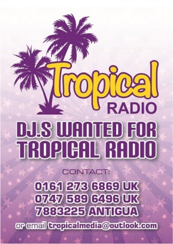 Tropical Media DJs Wanted