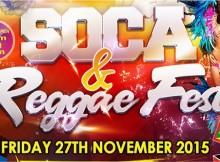 SOCA-Reggae Festival