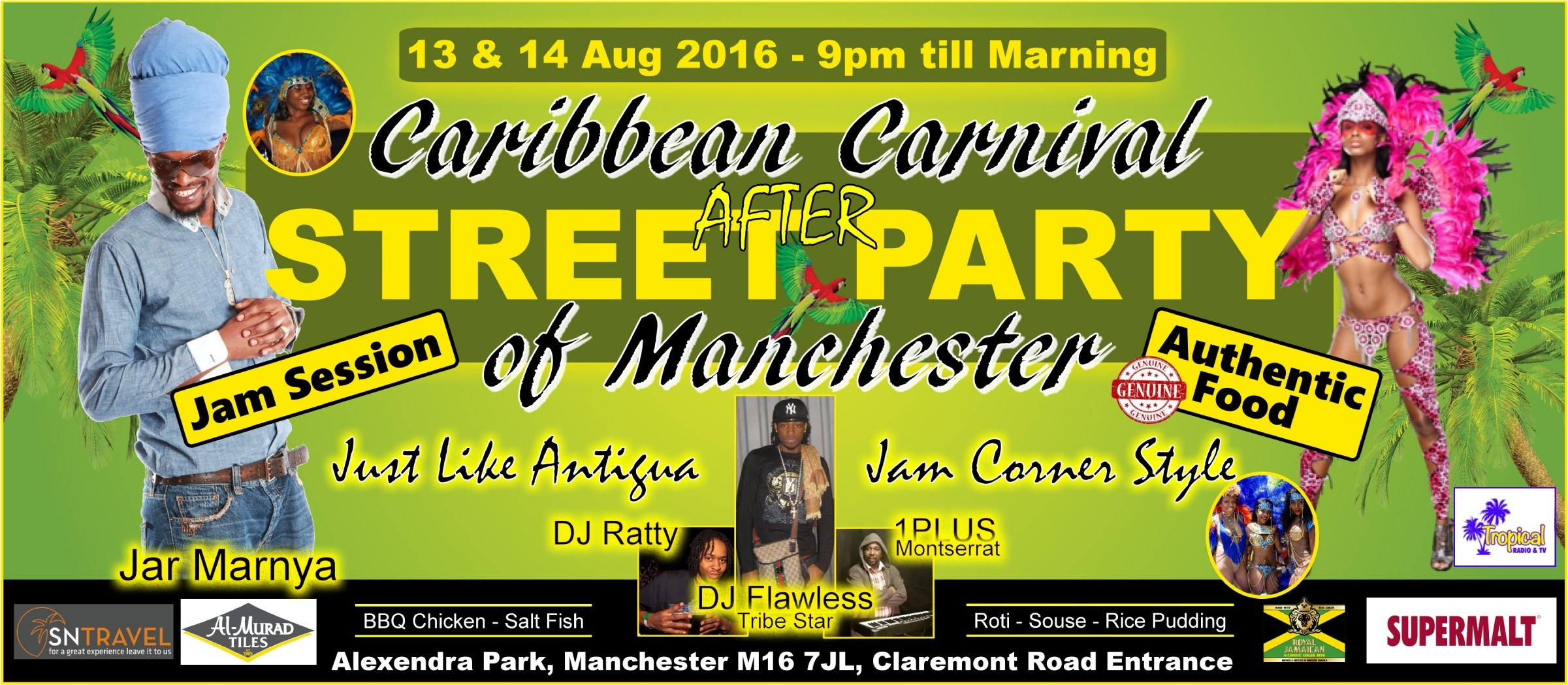 Carnival 2016 After Street Party